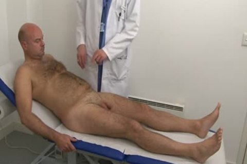 hirsute Daddy Physical Checkup