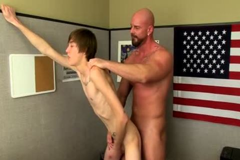 Muscle twinks arse bang With semen flow
