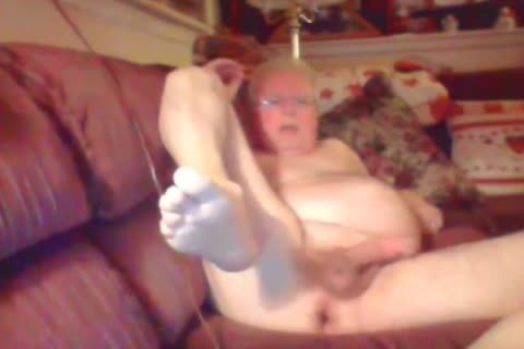 grand-dad jack off On web camera