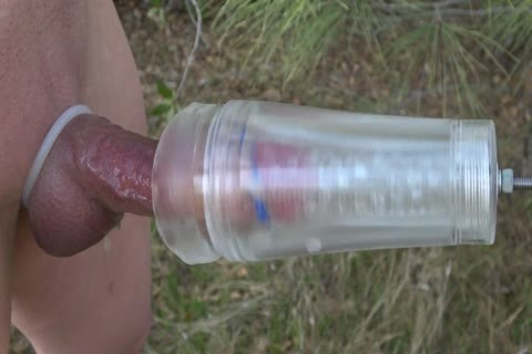 Fleshlight dick Milking Spin outdoors