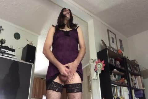 juicy daddy Sissy Sperms Her cock On A tasty Day