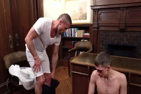 MormonBoyz - delicious Daddy gets Serviced By A young Missionary