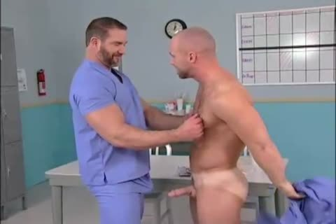 Stroking boy acquires fingered by doctor
