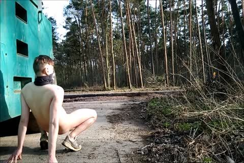 My naked Walk outside Part 1 Of three. Comments Pleasethanx