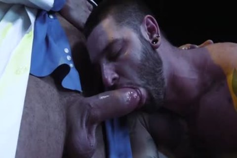 Large knob wolf fisting with cumshot