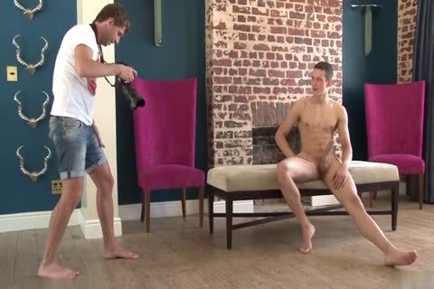guy Posing And Jerking