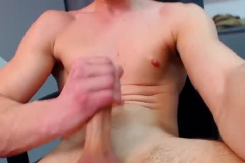 Bruce Larsen On Flirt4Free - big Dicked fellow spreads His booty And receives Off