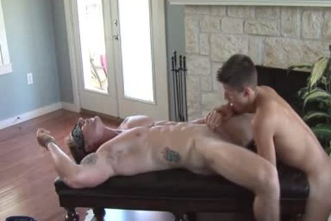 Clayton gets Serviced
