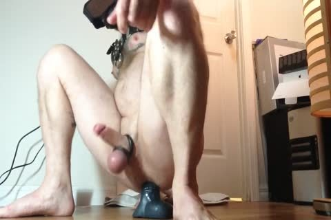 Delicious lad plays with dildo on web camera
