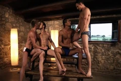 cute gay DP With ejaculation