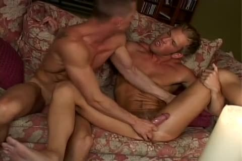Sam Tyson And Adam Wolfe pound On The daybed
