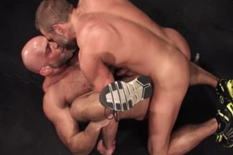Sweat: Jesse Jackman & Dirk Caber - butthole plowing In The Locker Room