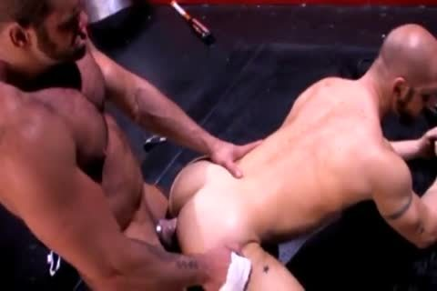 Concupiscent gay clip with dilettante hunk scenes