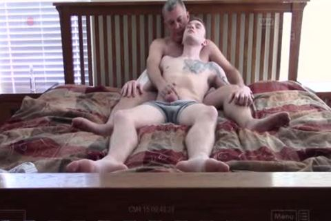 Lusty redhead lewis pleasuring sean taylors cock and arsehole