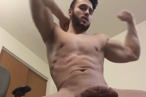Horny hunks explode for ass fucking