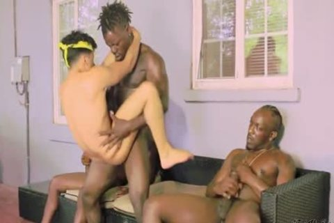 Armond rizzo in threeway homosexual pounding