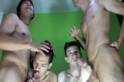 Homo bunch receive banged