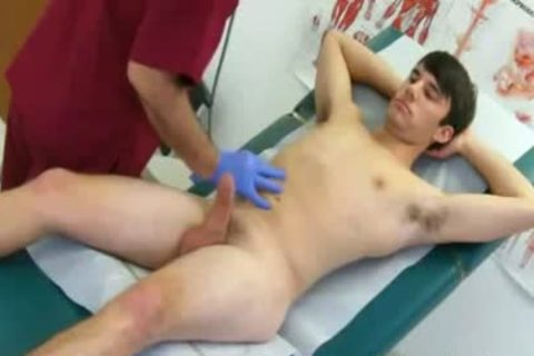 penis Physical Mason Dabbles In Devices At Doctors' Dojo