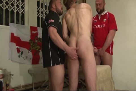 Lusty twinks all receive together and have an fuckfest
