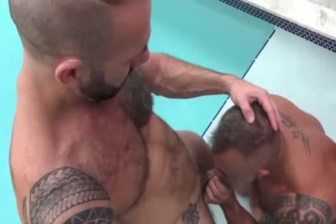 Hung beefy muscle males pound outdoors 2