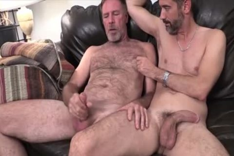 Two Dads fucking On The couch plowed