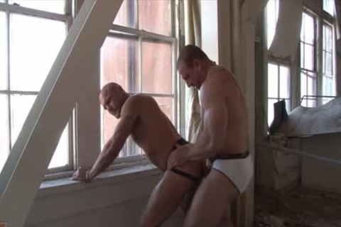 Chad brock and dirk caber in dirty bondage action