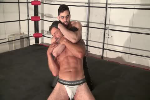 Excited muscle older fucks his stepguy