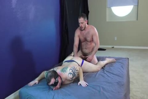 Cub jerk with fake penis