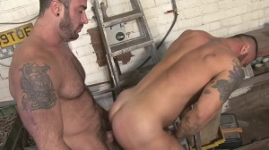 Late For Work - Spencer Reed and Alex Marte butthole Love
