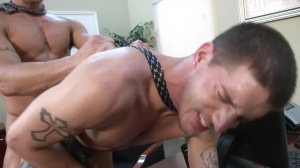 Sext In The Workplace - Ty Roderick & Trenton Ducati a bit of butthole