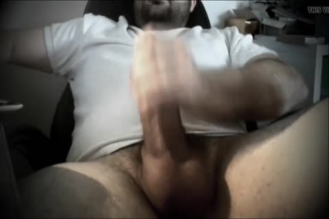 Darksome haired sugar daddy likes to jack off off