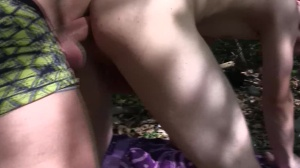 Shy Czech guy got pounded in the forest