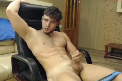 Large penis bottom gaping and cumshot
