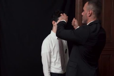 MormonBoyz - Priest Watches A Religious chap Jerks His dick