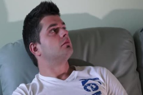 sexy Eastern European Straight dude Solo Action