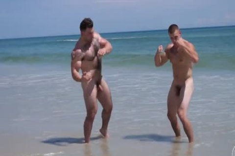naked Muscle Beach - Jack And Jason