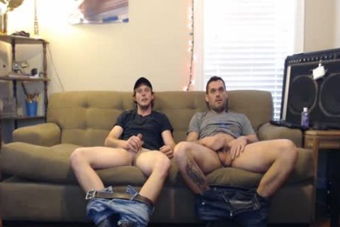 these guys said They Were Straight, But They'd Still jack off. They didn't Know The Camera Was On.