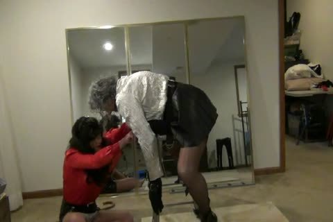 Bent-Over, bound, Gagged, And boned By StephanieLorain