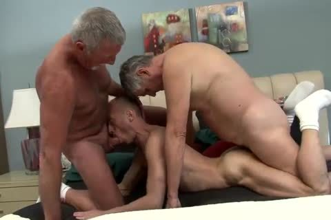 that chap Likes Two Daddies To Do It