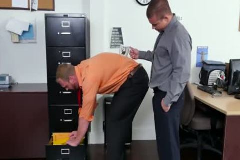 GRAB butt - new Employee gets Broken In By The Boss, Adam Bryant