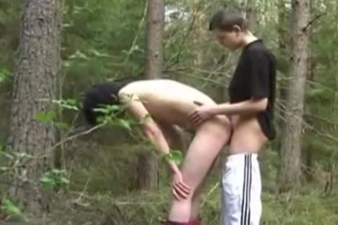 Discipline twink On The Wood pounding And sperm
