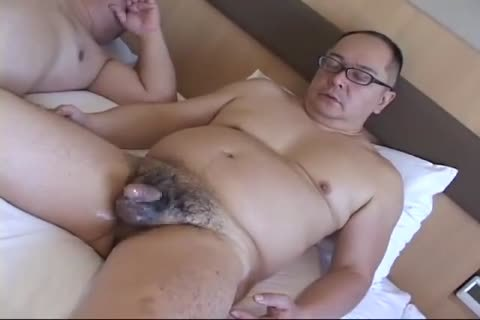 Another lovely lean japanese jerking off to sperm
