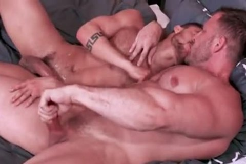 Austin Wolf pounding Hard Beaux Banks In Office Room