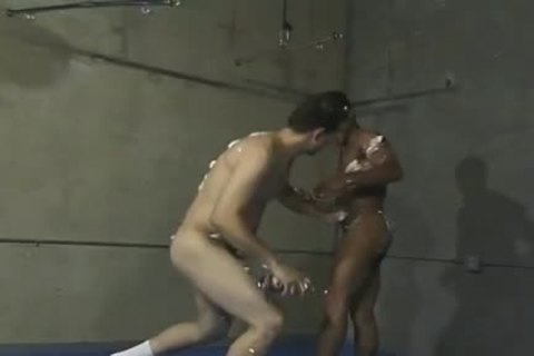 Playful Wrestlers Have pleasure With Whipped cream