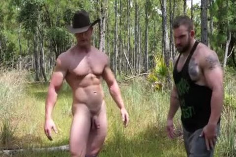 Muscle man receives nailed