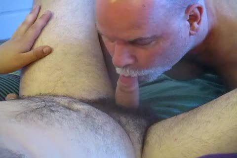 bisexual Bear Cub's First blowjob To Completion.