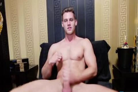 Alton Lewis - Flirt4Free - Blue Eyed blond Hunk With biggest plowing dick And OhMiBod