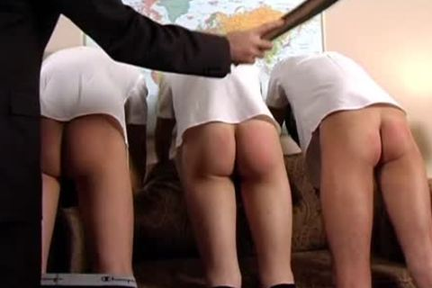 Schoolboys suck Each Other After Being Spanked By Headmaster