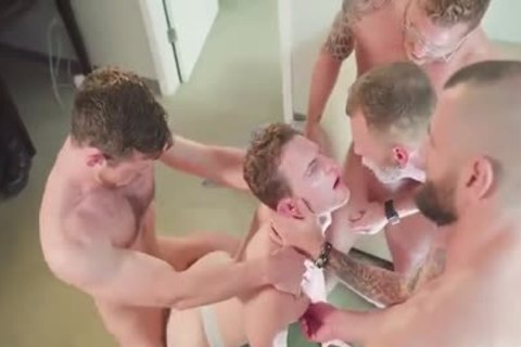 excited gangbang