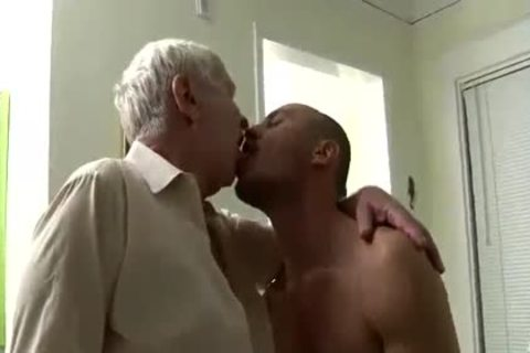 lusty older chap & Younger Having Sex